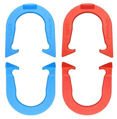 Bronco Two Pair pitching horseshoes