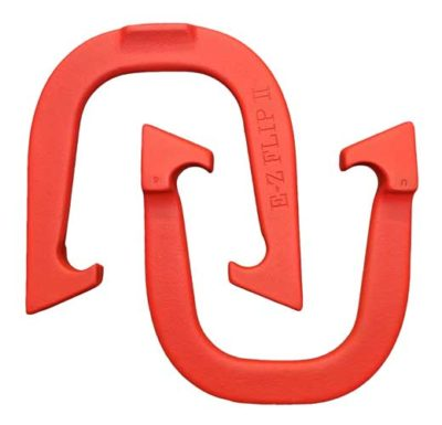 E-Z Flip II Red pitching horseshoe
