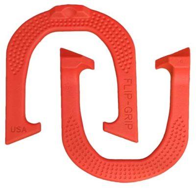 Flip Grip Red pitching horseshoe