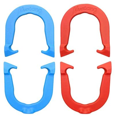 Mustang Two Pair Set of pitching horseshoes