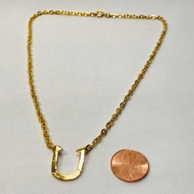 Fashion Horseshoe Necklace