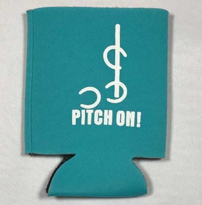 Insulator Single Pitch On teal front