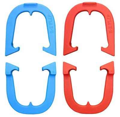 EZ Flip Two Pair Set pitching horseshoes