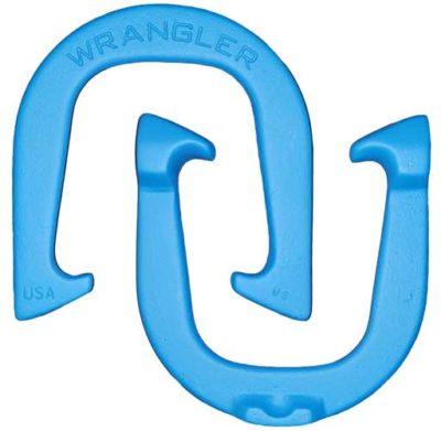 Wrangler Blue pitching horseshoes