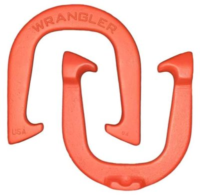Wrangler Red pitching horseshoes