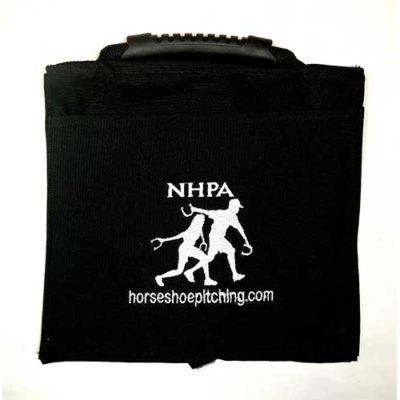 Canvas Horseshoe Saddle Bag