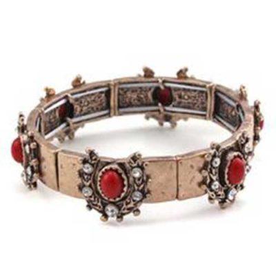 Crystal & Horseshoe Bracelet