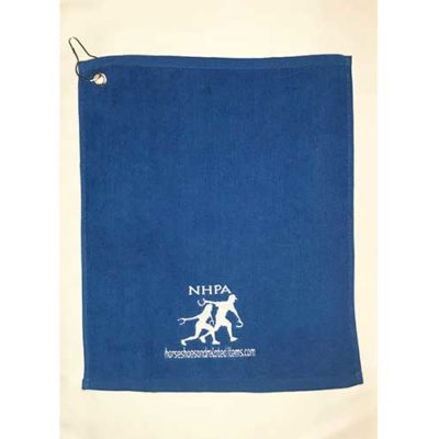 NHPA Logo Embroidered Towel
