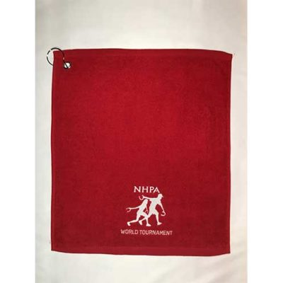 World Tournament Embroidered Towel