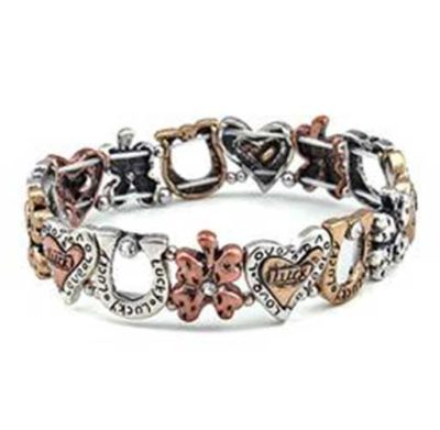 Lucky Horseshoe bracelet multi