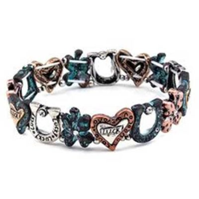 Lucky Horseshoe Stretch Bracelet