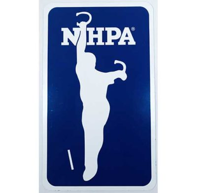 NHPA Magnetic sign 6x10