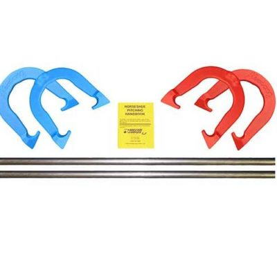 Mustang Horseshoe Stake Set