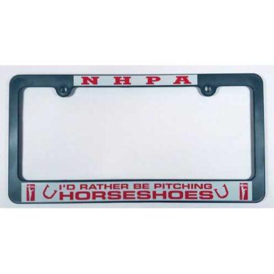 NHPA License Plate Frame
