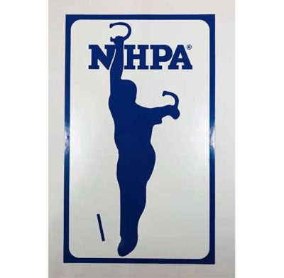NHPA Magnetic Sign 7x11 3/4
