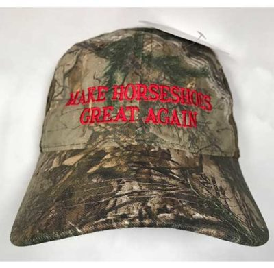 RealTree Camo Make Horseshoes Great Again Cap