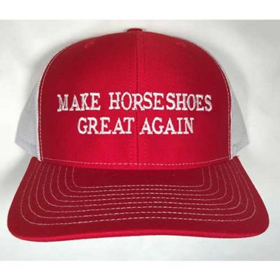 """Make Horseshoes Great Again"" Cap"