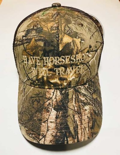 Have Horseshoes Will Travel camo
