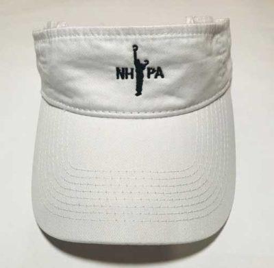 NHPA White Visor