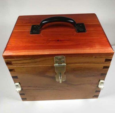 Cedar Horseshoe Box View 2