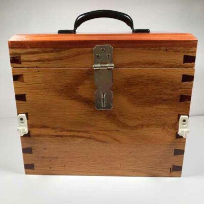 Cedar Horseshoe Box