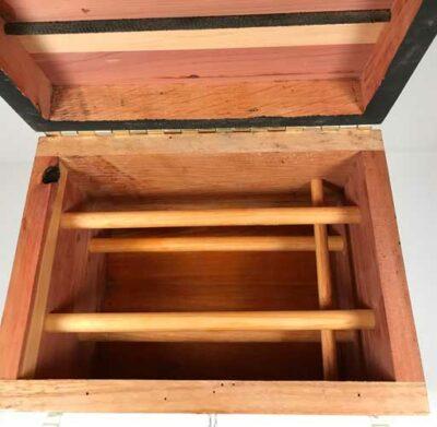 Cedar Horseshoe Box View 3